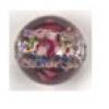 12mm Amethyst Round Lamp Bead